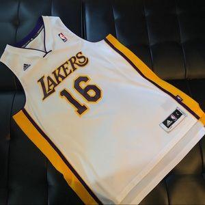 bdddec2d Other - Adidas Pau Gasol LA Lakers jersey size L
